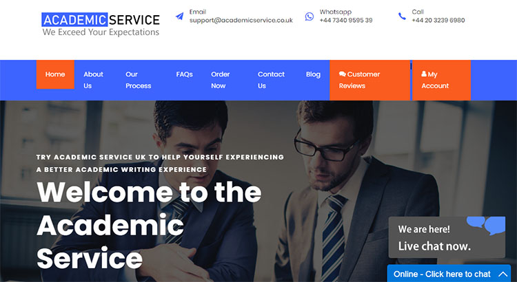 Academic service for best essay writing help.