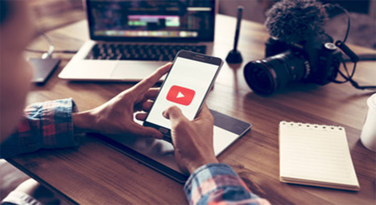 Create content on YouTube